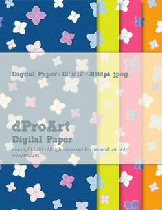 Digital Japanese Paper 02, Instant JPEGs Download.