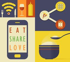 Eat Share Love by Donghyun Lim, via Behance