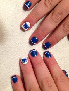 New York ranger nails by vi nails