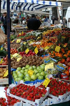 Italian Food Markets: Rules, Vocabulary, & Market Days in Italy