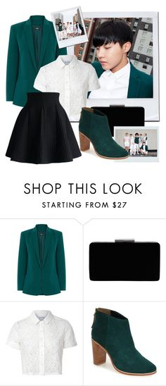 """""""BTS inspired by J-Hope outfit"""" by schnpri ❤ liked on Polyvore featuring Oasis, John Lewis, Glamorous, Ted Baker, Chicwish, kpop and bts"""