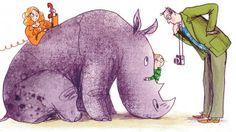 by Sara Ogilvie, from Rhinos Don't Eat Pancakes by Anna Kemp