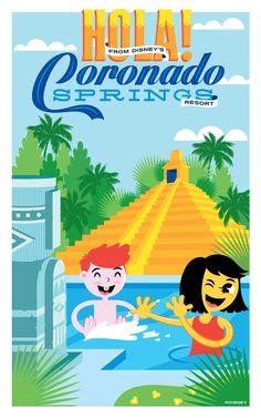 Disney's Coronado Springs Resort at Walt Disney World!