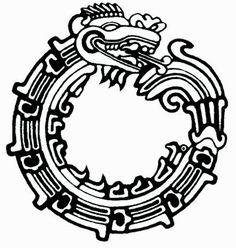 Aztec Maya Dragon - Great For Tatto Art Stock Vector - Illustration of jungle, tattoo: 8410286 Mayan Tattoos, Aztec Tribal Tattoos, Aztec Tattoo Designs, Aztec Art, Dragon Tattoo Designs, Aztec Designs, Tribal Wolf, Inca Tattoo, Fox Tattoo