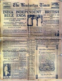 Independence Day History of India from 1757 to After the battle of Plassey India lost its Independence. The fight for Independence Day started in Finally, India got independence in 1947 History Of India, World History, Family History, Mahatma Gandhi, Independent Day, 15 August 1947, Birth Of Nation, India Independence, 15 August Independence Day