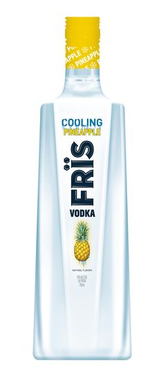 FrÏs Launches Pineapple Flavored Vodka