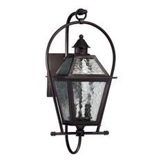Quorum French Quarter Two Light Outdoor Wall Lantern in Oiled Bronze
