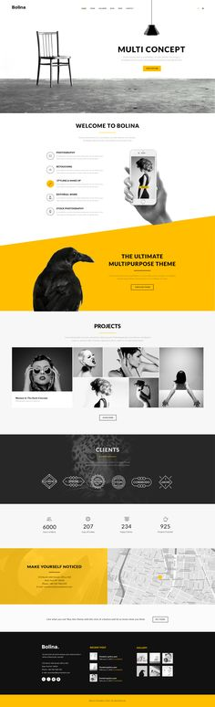 Bolina - Multi-purpose PSD Template - PSD Templates | ThemeForest