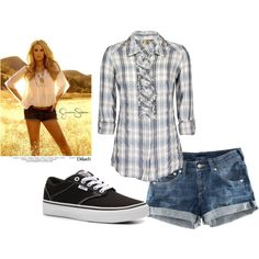 Summer Plaids, created by redblacklife on Polyvore