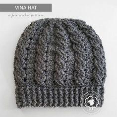 Vina Hat ~ A Free Crochet Pattern on Noowul.com