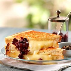 'The Simple' Grilled Cheese Sandwich Recipe | Made with local BC cheeses, luxurious brioche and homemade fruit chutney, this grilled cheese, developed by chef Ned Bell of British Columbia, is simple yet unique and satisfying.