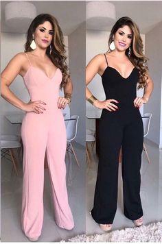 Macacão Spain Fashion, Look Fashion, Fashion Outfits, Indian Fashion Trends, Fashion Capsule, Skinny, Swagg, Sexy Legs, Casual Looks