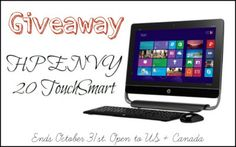 ~Giveaway~ to win a HP Envy all in one Desktop Computer