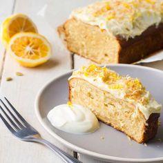 Lemon, Golden Syrup and Coconut Loaf