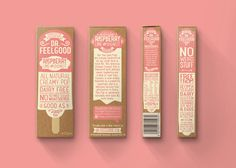 Dr.Feelgood Frozen Pops — The Dieline - Branding & Packaging