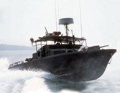 Vietnam era U.S. Navy PBR (Patrol Boat River).  #VietnamWarMemories https://www.pinterest.com/jr88rules/vietnam-war-memories-2/