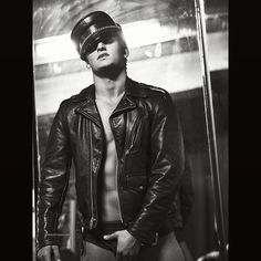 """scotthoover:  """"Bryant @bryantwood1 #new #leather #erotica #photoshoot #scotthoover #bryantwood  """""""