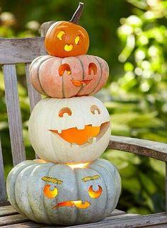 Jack-o-lanterns Front Porch, Autumn Fashion, Fall Fashion, Porch, Front Stoop, Fall Fashions