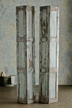 Volets De Limoge - Vintage Shutters, Antique Shutters, Mediterranean Shutters | Soft Surroundings