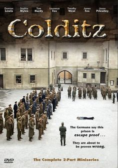 Colditz (2005. Damian Lewis, Sophia Myles, Tom Hardy, Jason Priestley) During WWII the German command converts the Saxon castle of Colditz into an escape-proof prison where it houses recidivist escapees under one roof.