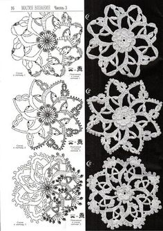 Crochet Motif Patterns, Crochet Chart, Crochet Squares, Crochet Stitches, Crochet Flowers, Crochet Lace, Star Flower, Reborn Babies, Irish Crochet