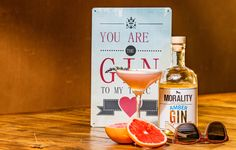 Great Gin & Tonic cocktails with a touch of Morality Gin. Gin & Tonic Cocktails, Gin And Tonic, Morality, Distillery, Amber, Touch, Bottle, Morals, Flask