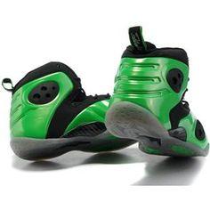 Penny Hardaway Shoes Nike Zoom Rookie LWP Black/Green