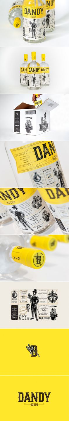 Dandy Gin is a Sophisticated Spirit That Doesn't Take Itself Too Seriously — The Dieline | Packaging & Branding Design & Innovation News