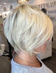 White Blonde Pixie Bob Over 50 - June 29 2019 at Short Sassy Hair, Very Short Hair, Short Hair With Layers, Short Hair Cuts, Long Layered Hair, Mom Hairstyles, Latest Hairstyles, Short Hairstyles For Women, Classy Hairstyles