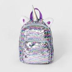 Girls  Sequin Unicorn Mini Backpack - Cat   Jack e11a994f89c3e