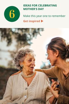 Six ideas for celebrating Mother's Day. Get inspired with these ideas to make Mother's Day in 2021 a day to remember. Elderly Activities, Aging Parents, A Day To Remember, Interactive Design, First Love, Mom, Inspired, Couple Photos, Celebrities