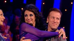 Agile: Lesley Joseph admitted she couldn't wait to have her 'first spray tan'…