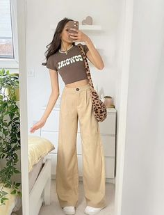 Teen Fashion Outfits, Retro Outfits, Cute Casual Outfits, Look Fashion, Stylish Outfits, Vintage Outfits, Looks Street Style, Looks Style, Mode Hippie