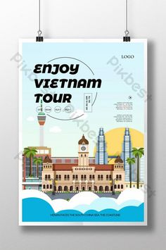 Tourism Day, Tourism Poster, Vietnam Tourism, Powerpoint Word, Sign Design, Find Image, Templates, Simple, Free