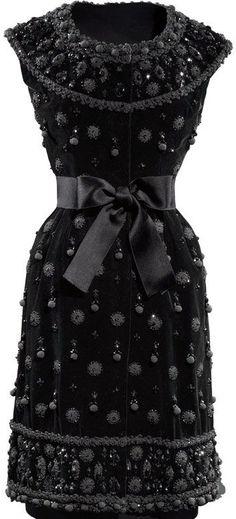 Balenciaga - Vintage - Robe - Broderies et Perles - 1962