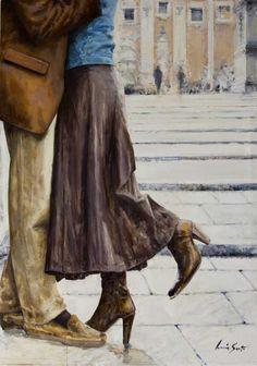 Lucia Sarto   Italian Romantic Impressionist painter