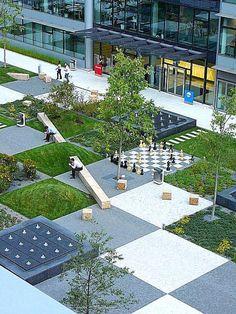 O complexo de escritórios Park, em Praga, República Checa por Cigler Marani Architects.