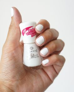 Witte nagellak review