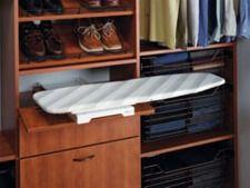 Hafele America Co. - Hafele Ironfix Shelf-Mounted Ironing Board - (EACH) - The Hardware Hut Closet Shelves, Closet Storage, Closet Organization, Closet Wall, Closet Space, Wall Shelves, Kitchen Storage, Kitchen Bins, Kitchen Organization