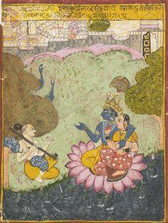 a ragamala .Sirohi, India c. 1690