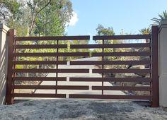 Automatic Swing Gates - custom made - The Motorised Gate Company - Melbourne, Australia. Visit us @ www.themotorisedgatecompany.com.au