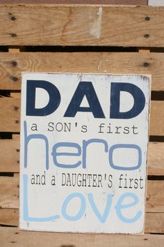Dad quote inspirational hand painted wood sign by caitcreate, $45.00