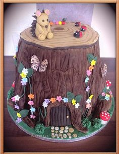 Cool Magical Woodland Cake... Coolest Birthday Cake Ideas