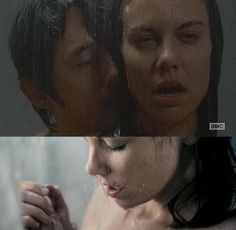 The Walking Dead Season 6 Episode 15 'East' Glenn and Maggie