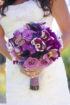 Love the orchid | Bouquet by Pixies Petals