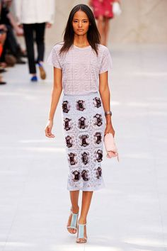 Burberry Prorsum Spring 2014 Ready-to-Wear Runway - Burberry Prorsum Ready-to-Wear Collection