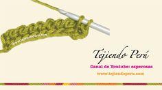 Crochet o ganchillo tunecino: técnica básica en 1 y 2 colores