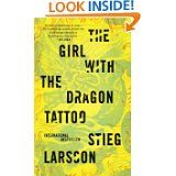 The Girl With the Dragon Tattoo-sooo good couldn't put it down!!  Can't wait to read the other two!