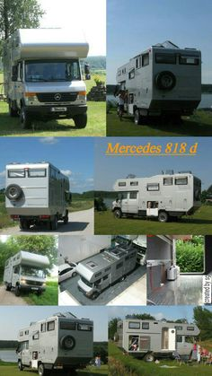 Mercedes 818 d camper family Diy Camper, Camper Life, Truck Camper, Camper Trailers, T1 Bus, Vw T1, Mercedes Camper, Mercedes Benz, Outback Campers