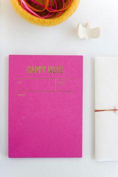 Send someone a Happy Note.  by Tokketok